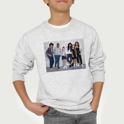 Sweat enfant Gris Fan de... Kids United