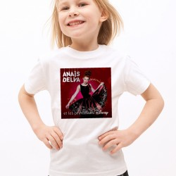 T-Shirt Enfant Blanc Fan de ... Anaïs Delva Cover