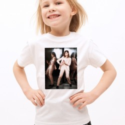 T-Shirt Enfant Blanc Fan de ... Christine and the Queens