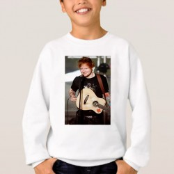 Sweat enfant Blanc Fan de... Ed Sheeran en concert
