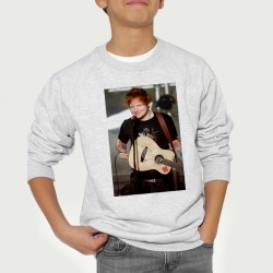 Sweat enfant Gris Fan de... Ed Sheeran en concert