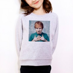 Sweat enfant Gris Fan de... Ed Sheeran portrait