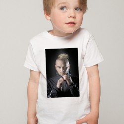 T-Shirt Enfant Blanc Fan de ... Jul