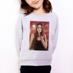Sweat enfant Gris Fan de... Marina Kaye