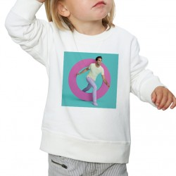 Sweat enfant Blanc Fan de... Mika