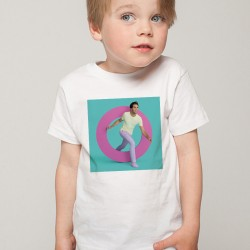 T-Shirt Enfant Blanc Fan de ... Mika