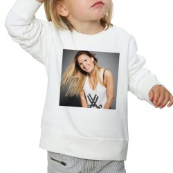 Sweat enfant Blanc Fan de... Vitaa sourire
