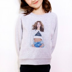 Sweat enfant Gris Fan de... Vitaa