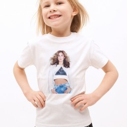 T-Shirt Enfant Blanc Fan de ... Vitaa