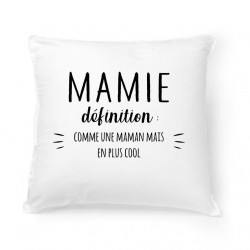 Coussin Mamie définition