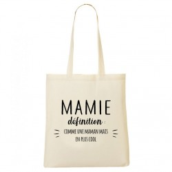 Tote Bag - Mamie définition