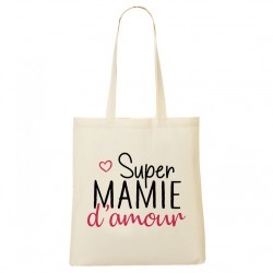 Tote Bag - Super mamie d'amour