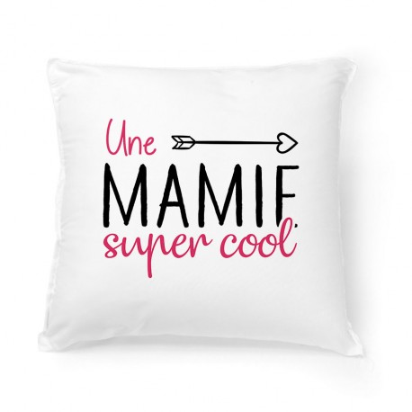Coussin Une mamie super cool