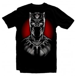 T-Shirt Black Panther face - Homme noir