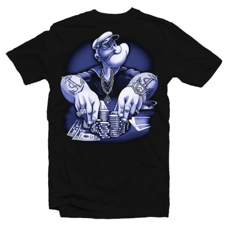T-Shirt Popeye poker