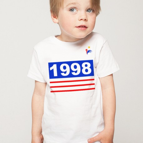 T-Shirt Enfant Foot france 1998