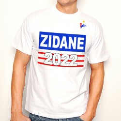 T-Shirt T-Shirt Zidane 2022 France Mondial de foot