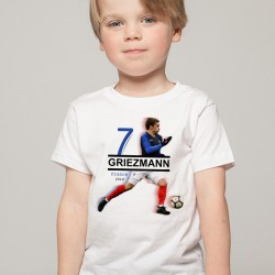 T-Shirt Enfant France Griezmann 2018