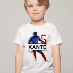 T-Shirt Enfant France Kanté 2018