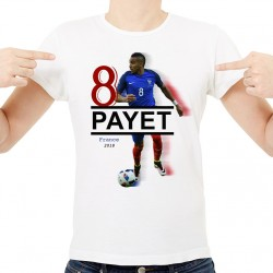 T-Shirt Homme Blanc - France Payet 2018