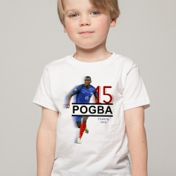 T-Shirt Enfant France Pogba 2018