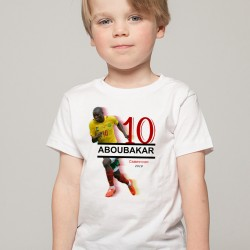 T-Shirt Enfant Cameroun Aboubakar 2018