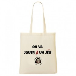 Tote Bag Jigsaw - On va jouer a un jeu