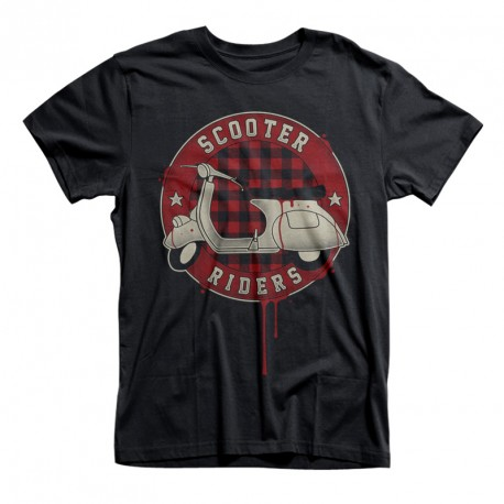 T-Shirt Scooter riders