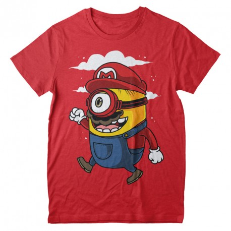 T-Shirt Super Mario Minion