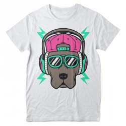 T-Shirt Chien cool