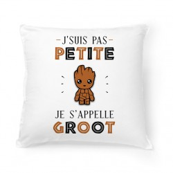 Coussin Je s'appelle GROOT