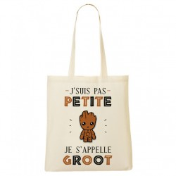 Tote Bag Je s'appelle GROOT