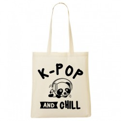 Tote Bag K-pop and chill