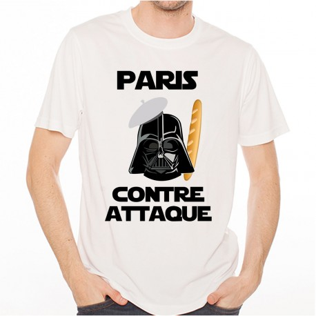 T-Shirt Paris contre attaque