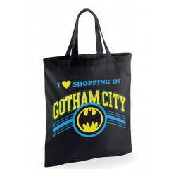 Tote Bag Batman - Shopping In Gotham