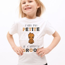 T-Shirt kids Je s'appelle GROOT