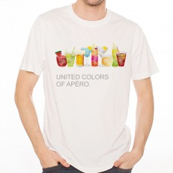 T-Shirt colors of apéro