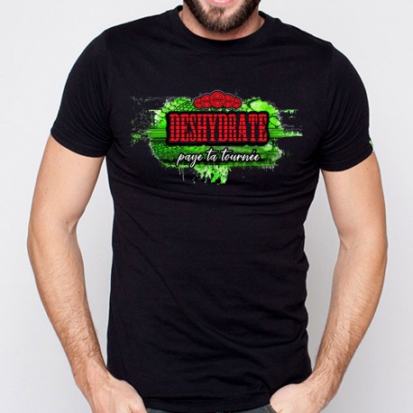 T-Shirt deshydrate