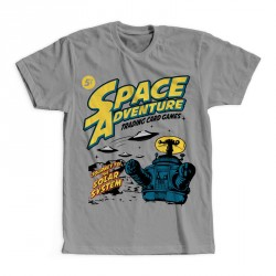 T-Shirt Space adventure robot