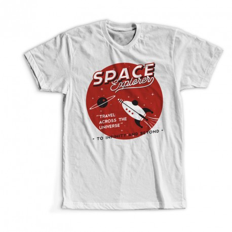 T-Shirt Space Explorer Factory