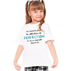 T-Shirt Enfant Définition de la perfection