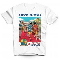 T-Shirt Daft Punk Airlines