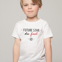 T-Shirt enfant Future star du foot