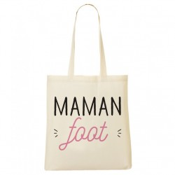 Tote Bag Maman foot