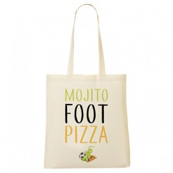 Tote Bag Mojito foot pizza