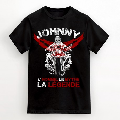 T-Shirt Johnny l'homme, le mythe, la légende