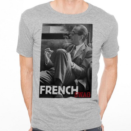 T-Shirt Chirac canapé French swag