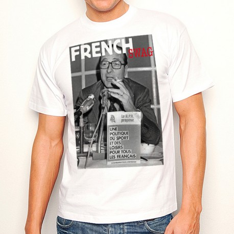 T-Shirt Chirac RPR French swag