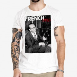 T-Shirt Chirac cigarette French Swag
