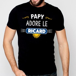 T-Shirt Ricard - Papy adore le ricard